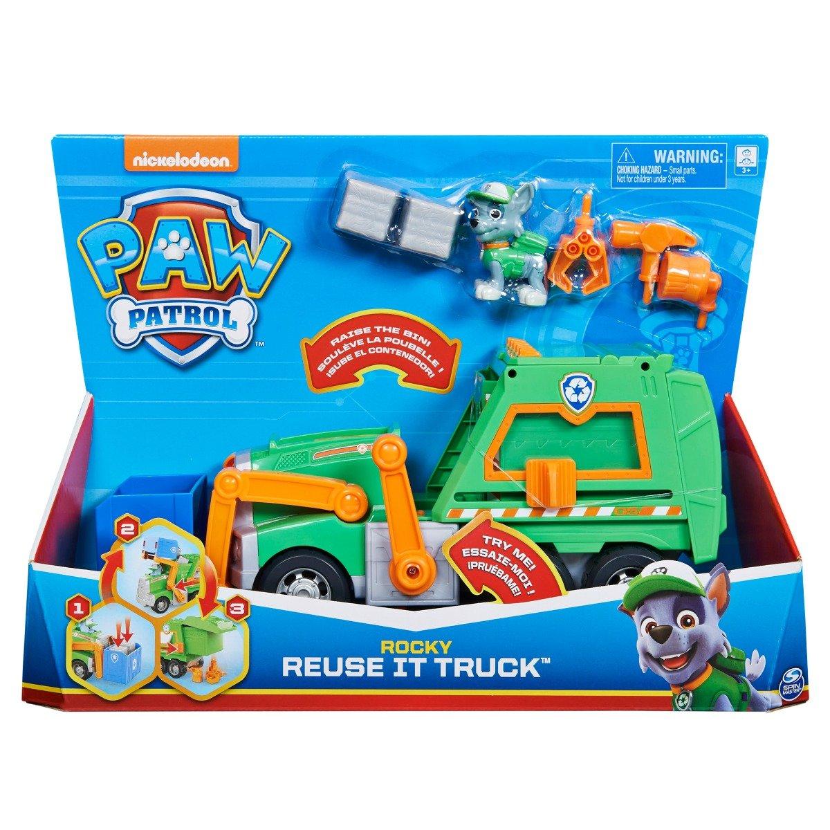 Camion de reciclare Paw Patrol, Rocky