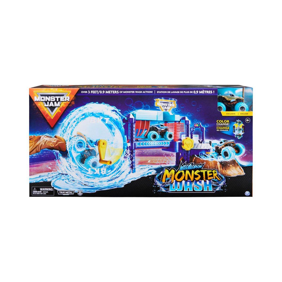 Set de joaca, Monster Jam, Spalatorie auto