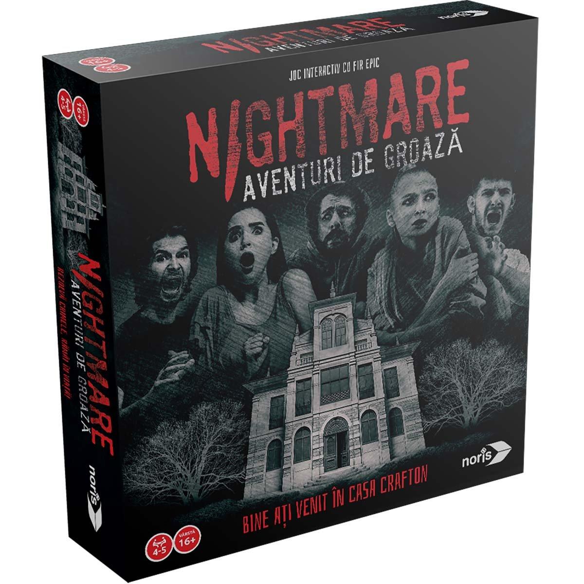 Joc de societate Noris, Nightmare: Aventuri de groaza