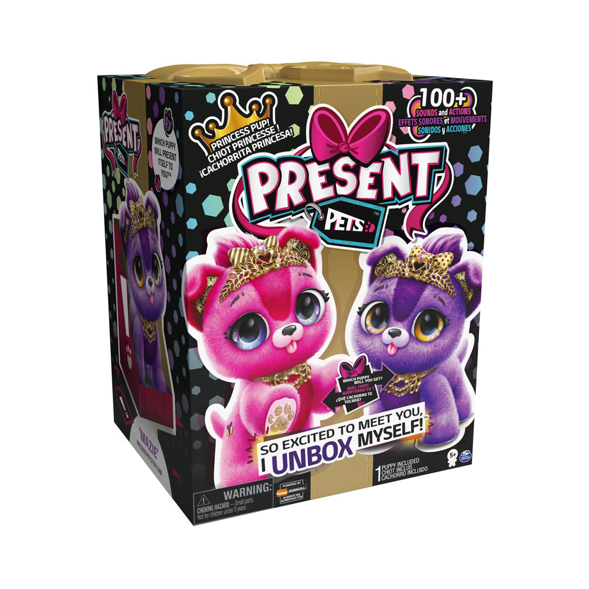 Pachet surpriza, Present Pets, Mini animalut de companie, Princess