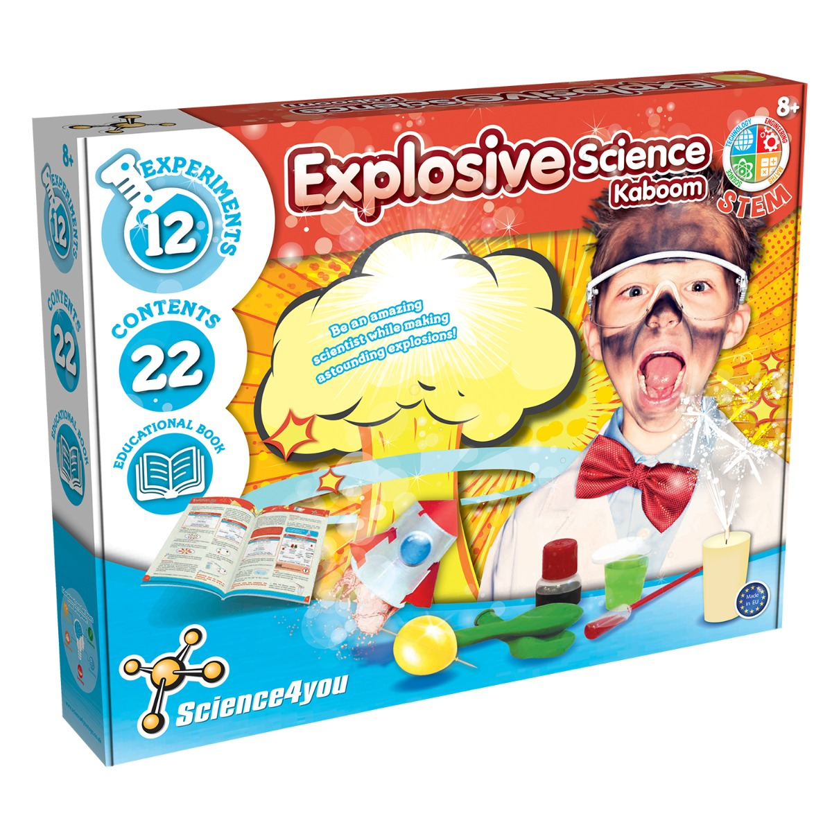 Joc educativ Science4you, set stiinta exploziva