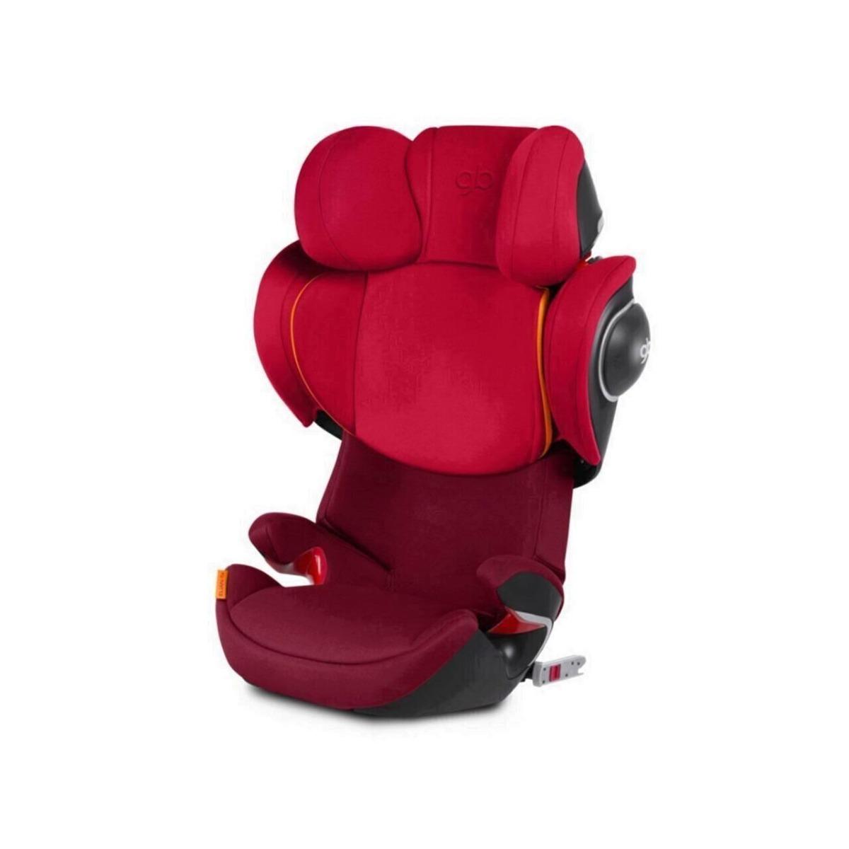 Scaun auto cu Isofix GB Elian-Fix Dragonfire Red, 15 - 36 Kg imagine