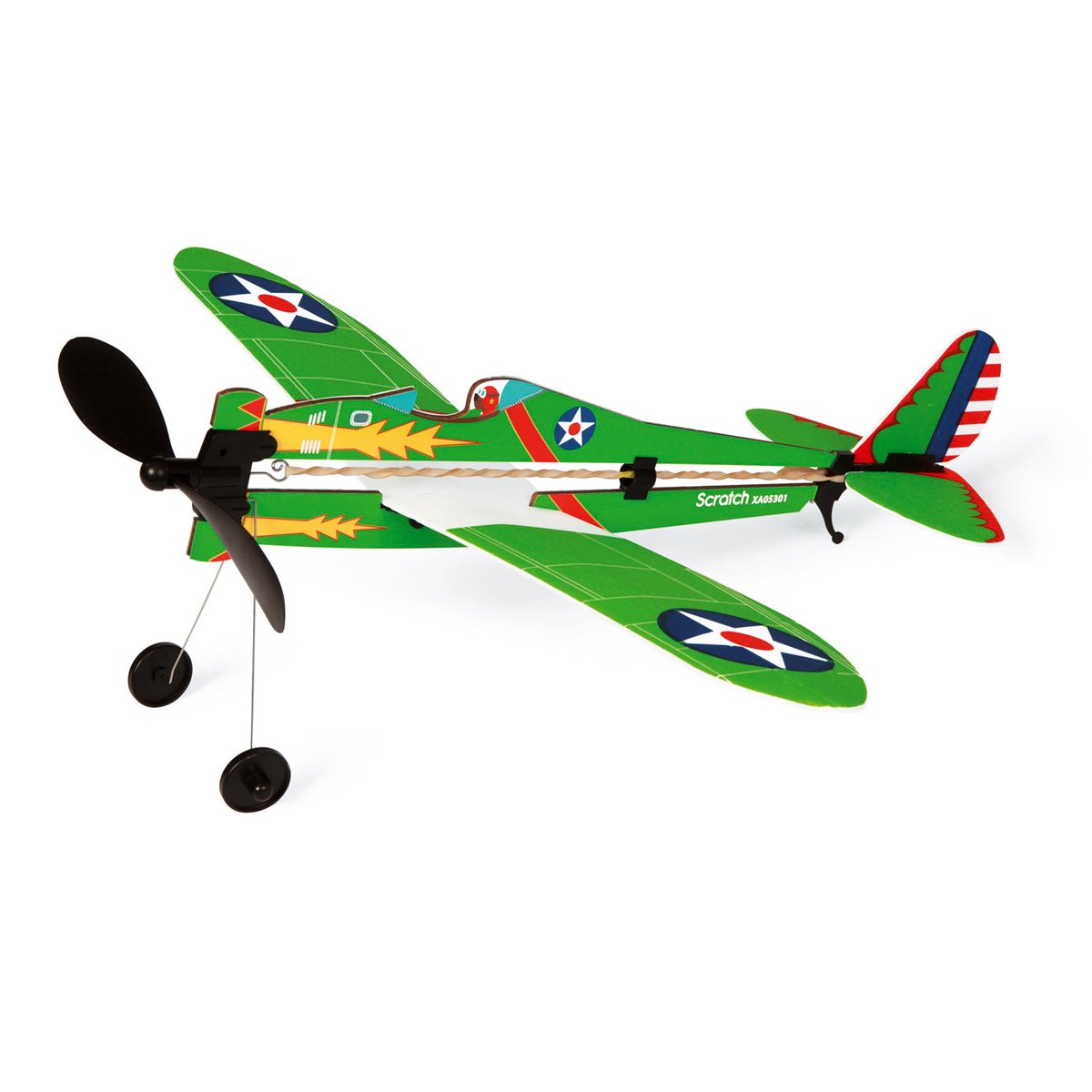 Avion acrobat Army Scratch