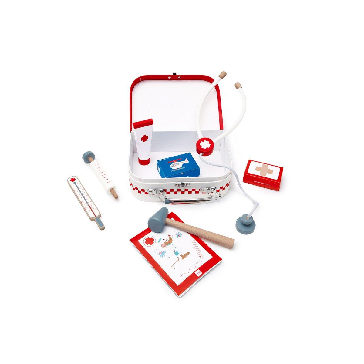 Trusa de doctor cu 8 accesorii Scratch