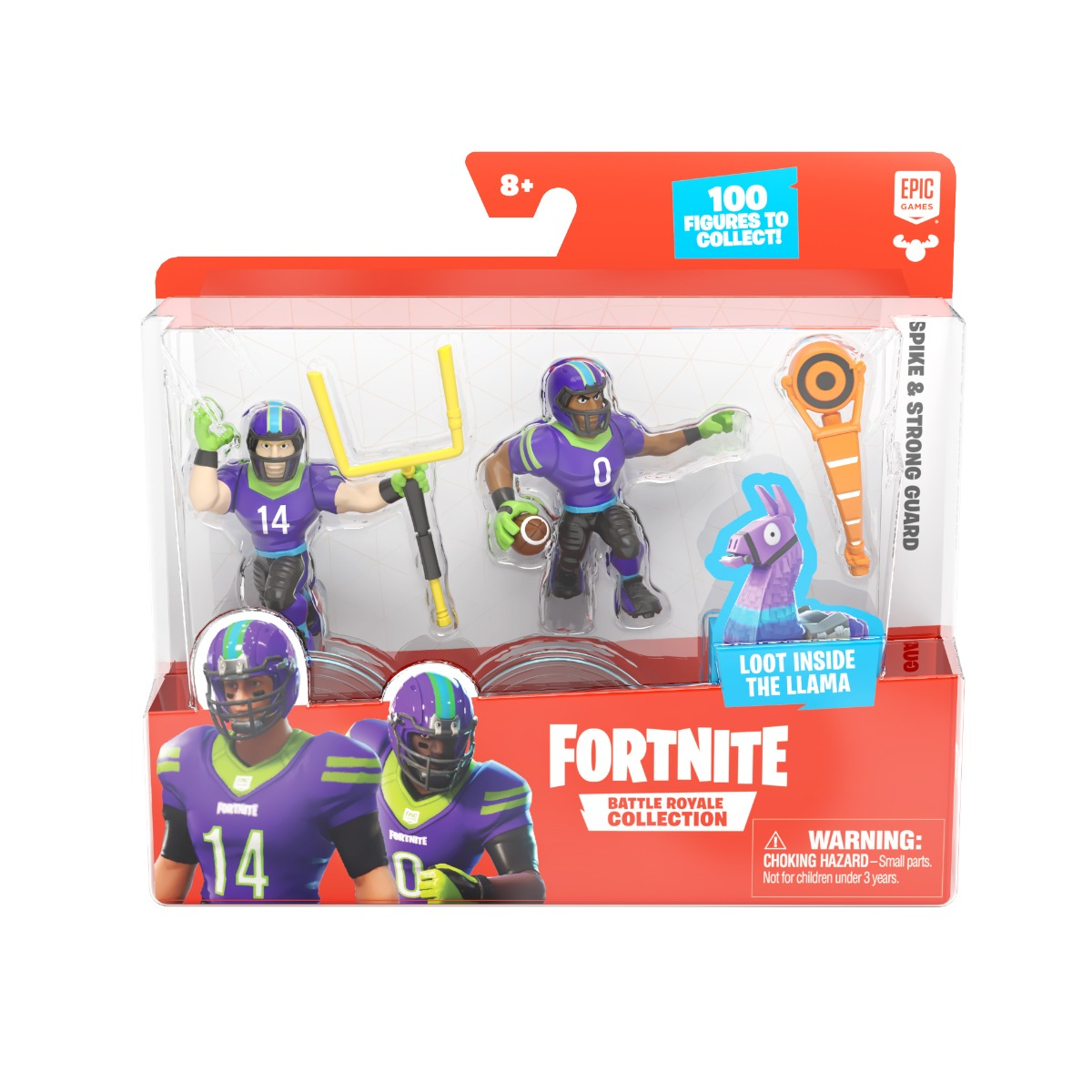 Set 2 figurine Fortnite, Spike si Strongguard, S1, W4