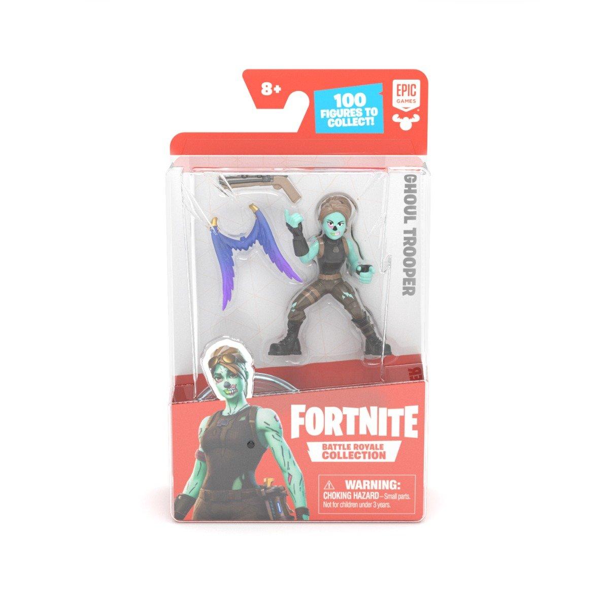 Figurina articulata cu accesorii Fortnite, Ghoul Trooper, S1, W4