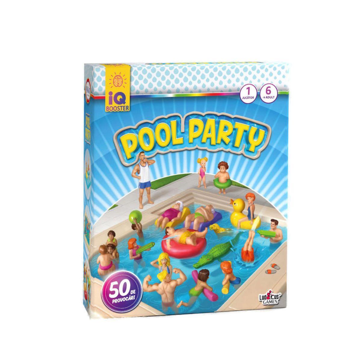 Joc educativ IQ Booster - Pool Party