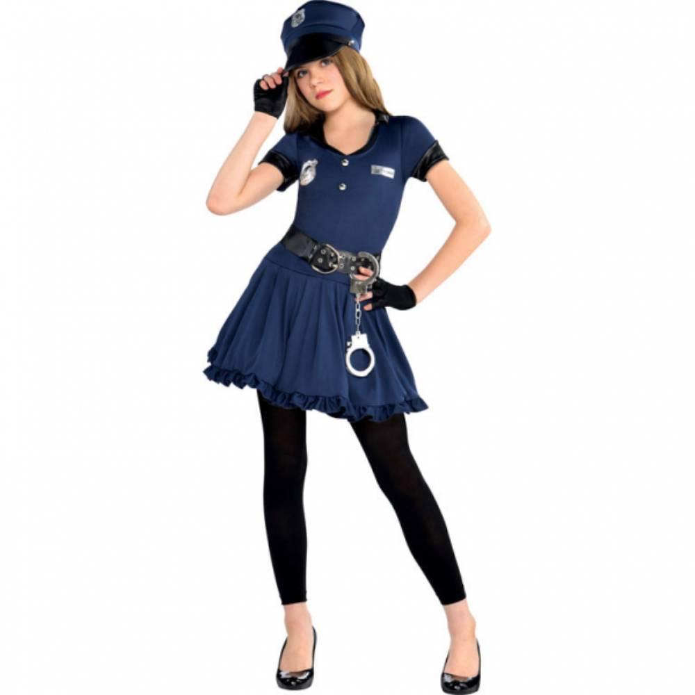 Costum de petrecere polistita Cop Cutie