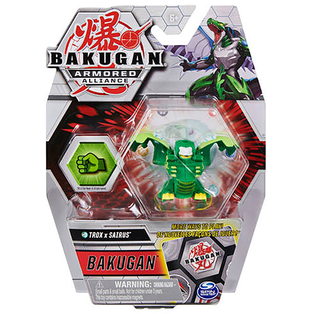Figurina Bakugan Armored Alliance, Trox x Sairus, 20124829