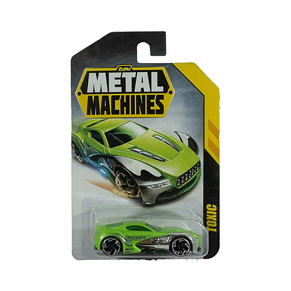 Masinuta Metal Machines Toxic, 1:64, Verde