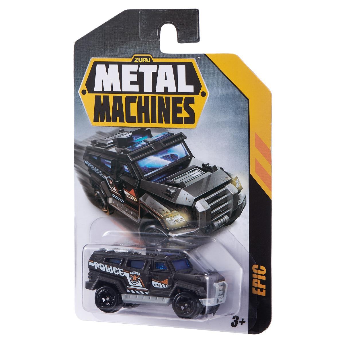 Masinuta Metal Machines Epic, 1:64, Negru