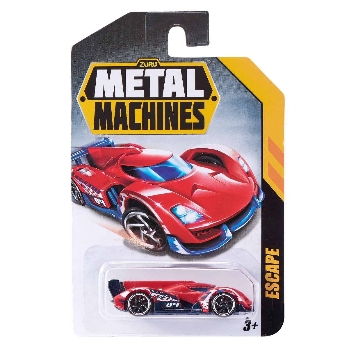 Masinuta Metal Machines Escape, 1:64, Rosu