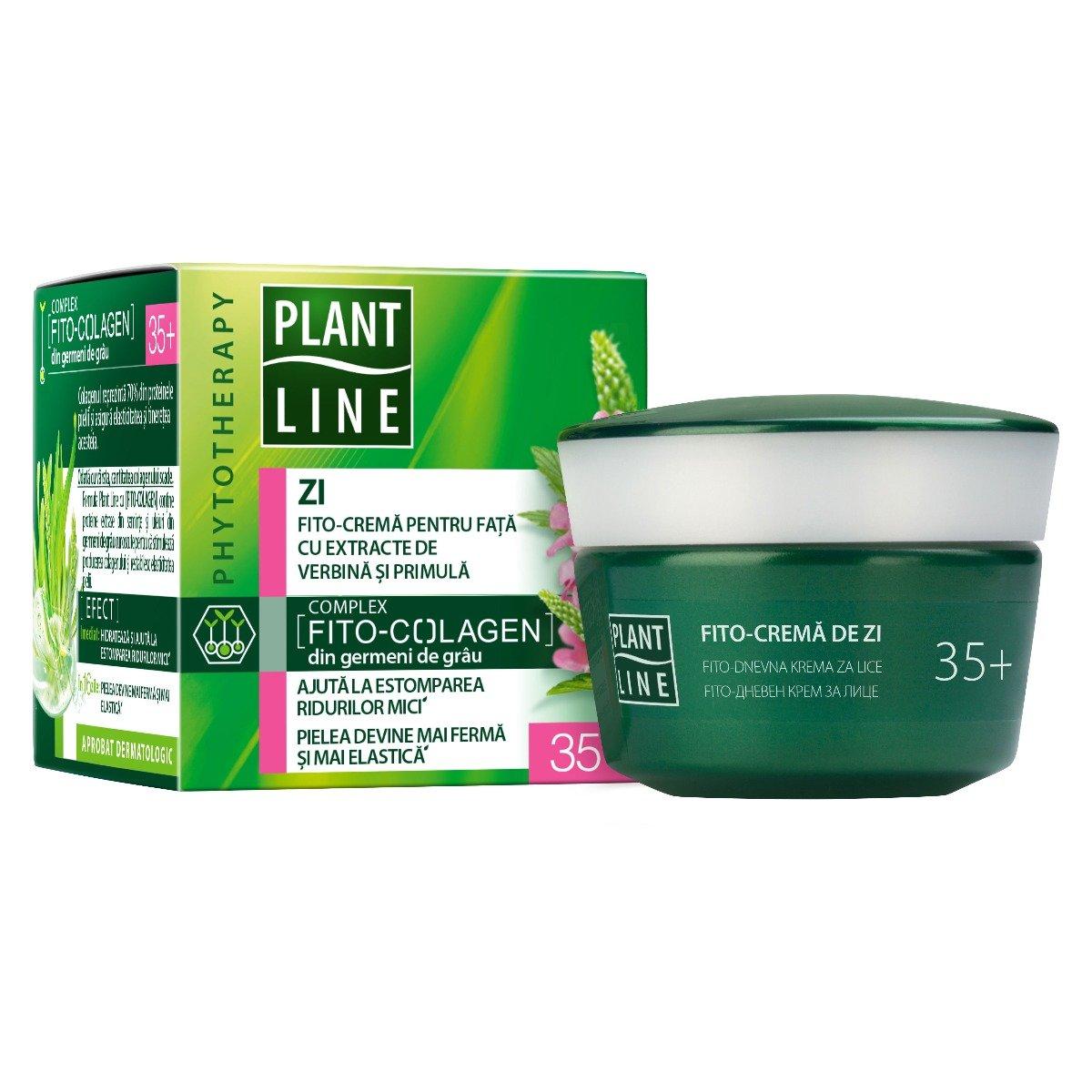 Crema de zi Plant Line Verbina, 35+, 45 ml imagine