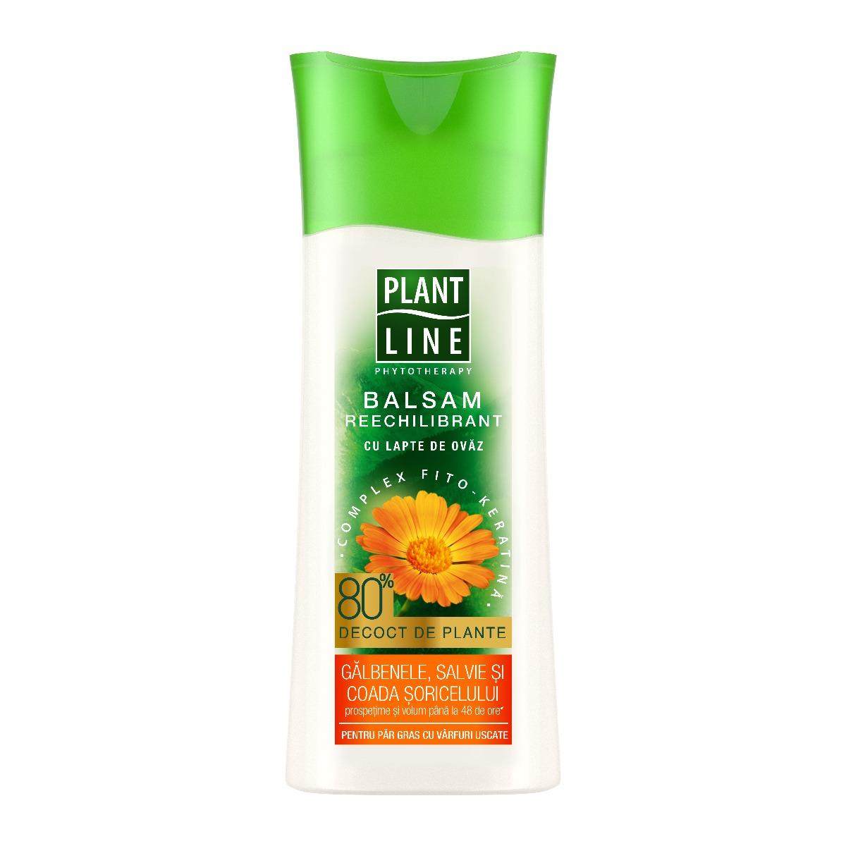Balsam cu extract de galbenele Plant Line, 230 ml imagine