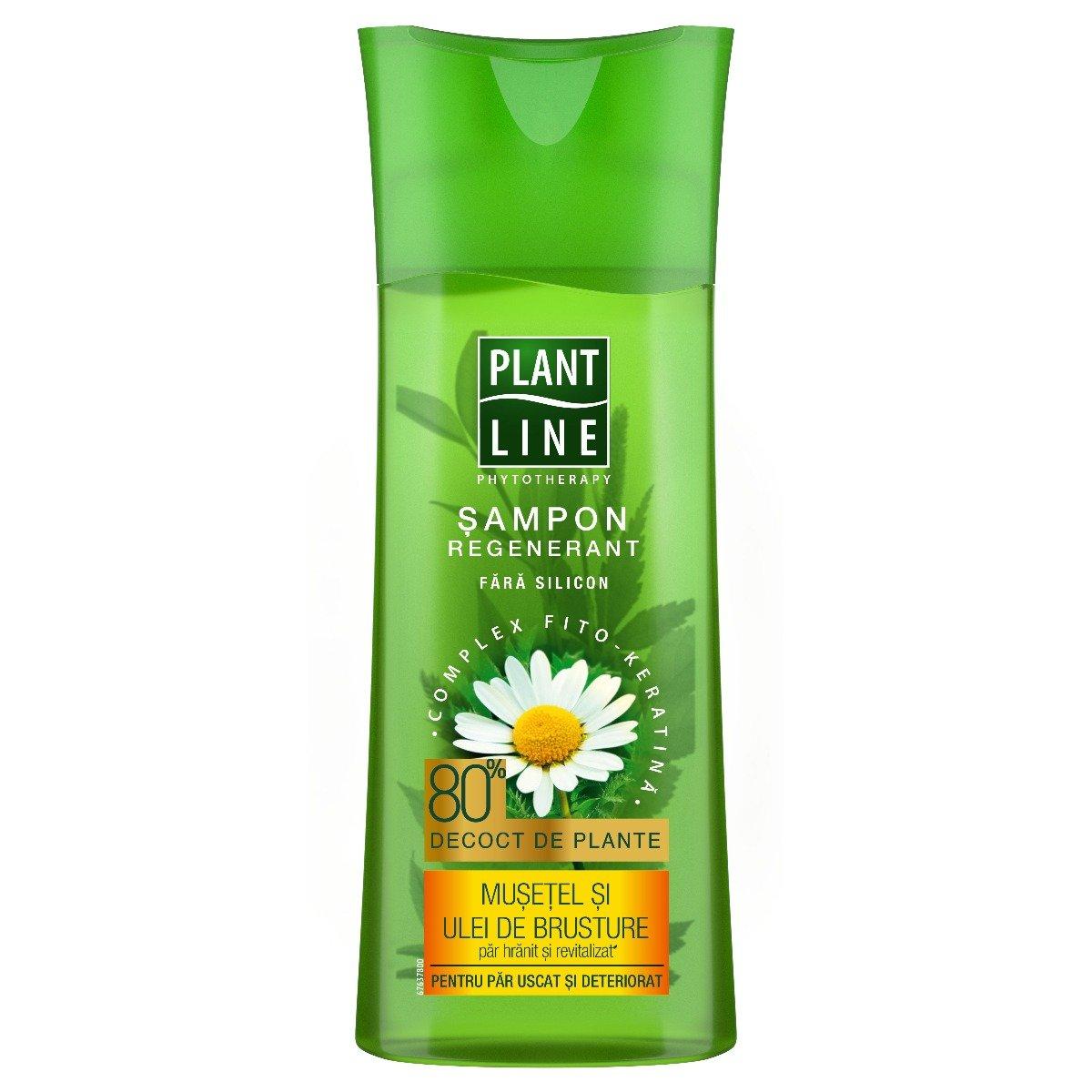 Sampon cu extract de musetel Plant Line, 250 ml