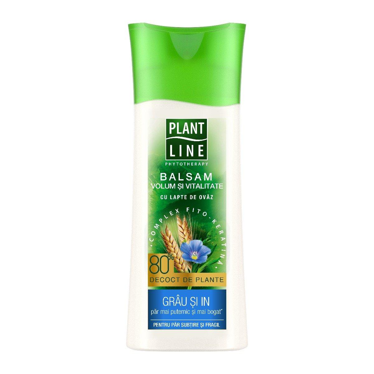 Balsam cu extract de grau si in Plant Line, 230 ml imagine
