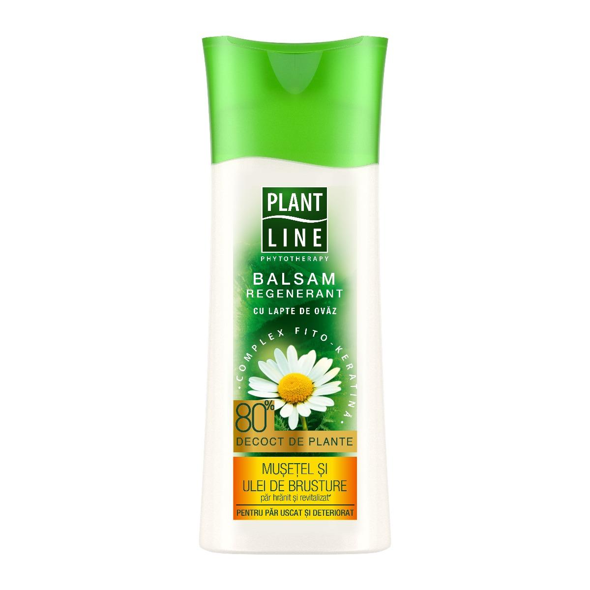 Balsam cu extract de musetel Plant Line, 230 ml imagine