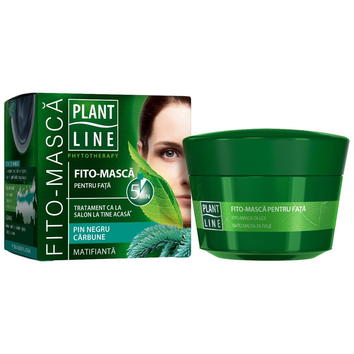 Masca de fata matifianta Plant Line, 45 ml imagine