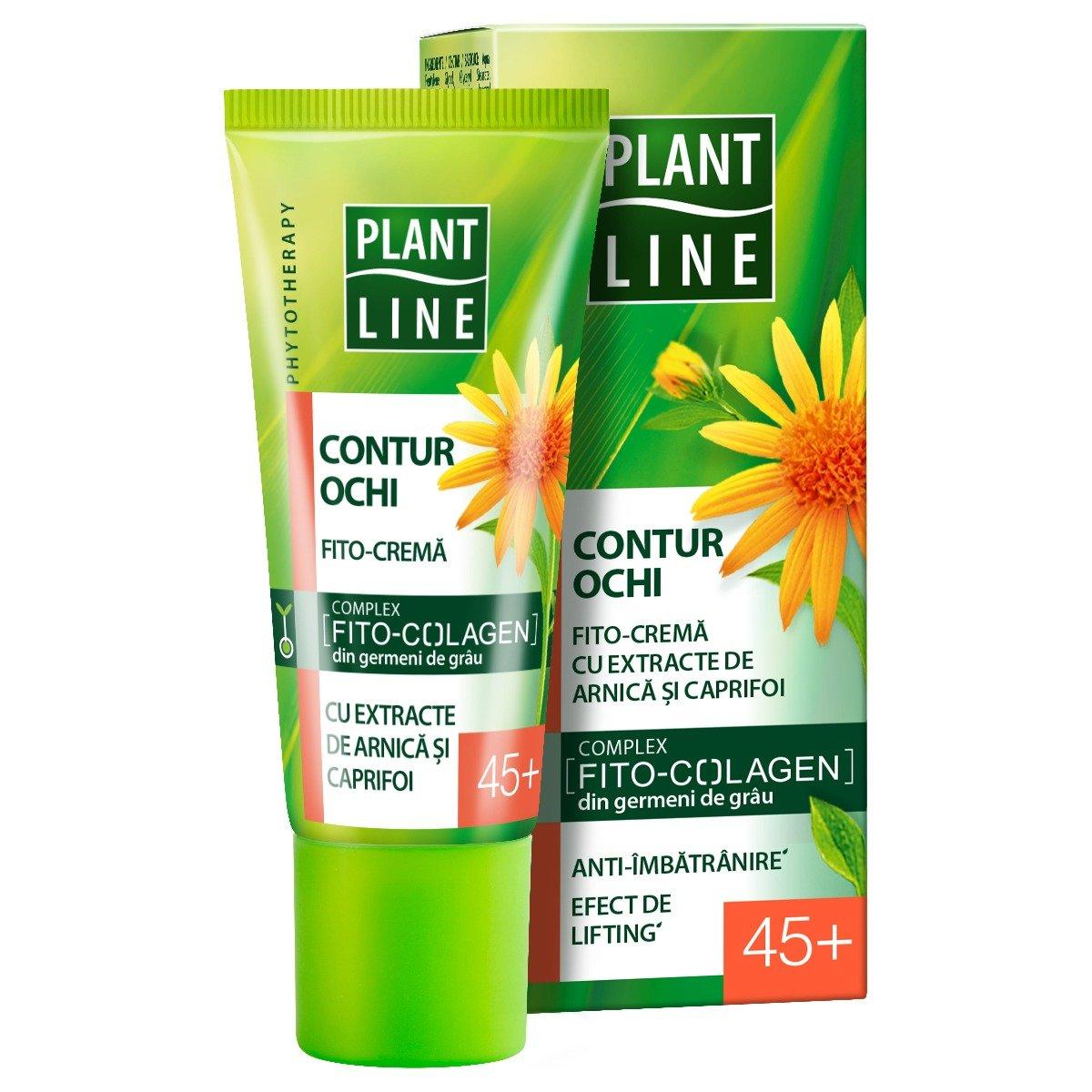 Crema de ochi Plant Line Arnica, 45+, 20 ml imagine