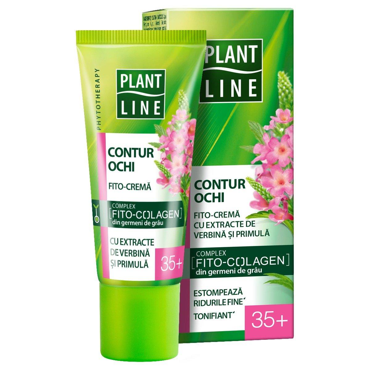 Crema de ochi Plant Line Verbina, 35+, 20 ml imagine