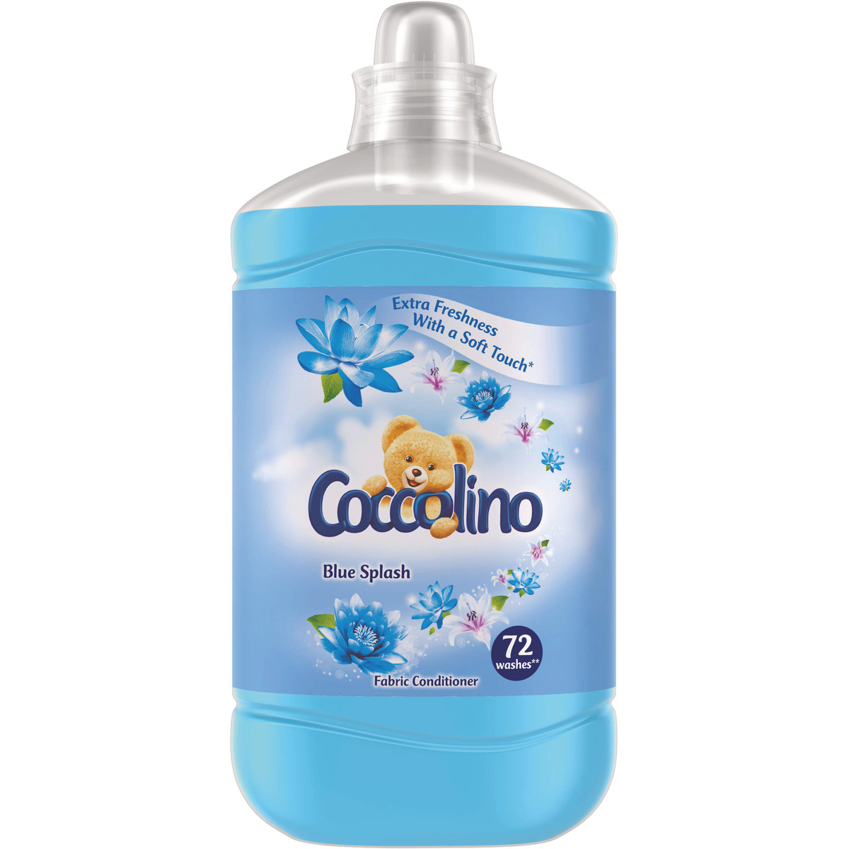 Balsam de rufe Coccolino Blue Splash, 72 spalari, 1.8 L imagine 2021