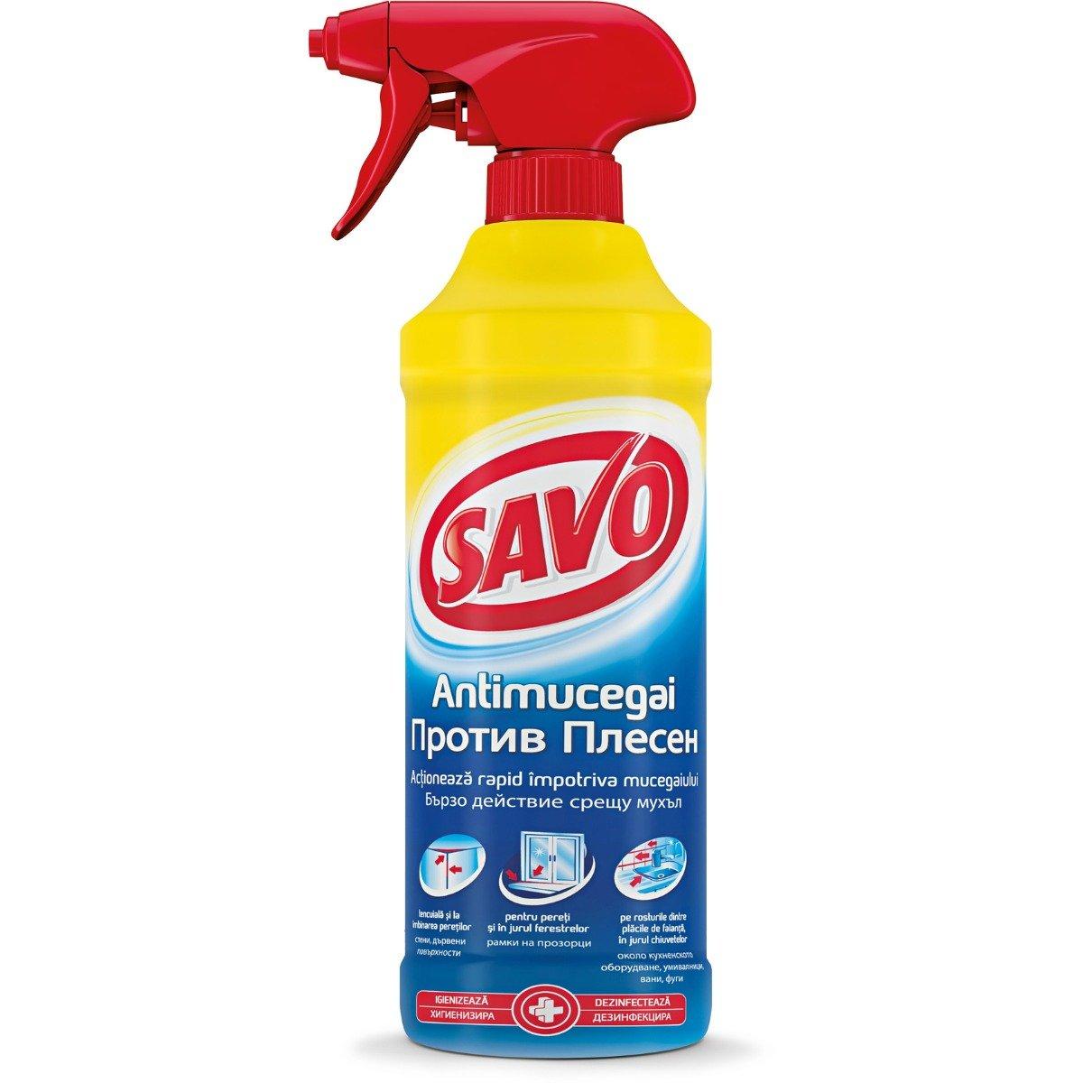 Spray antimucegai universal Savo, 500 ml imagine
