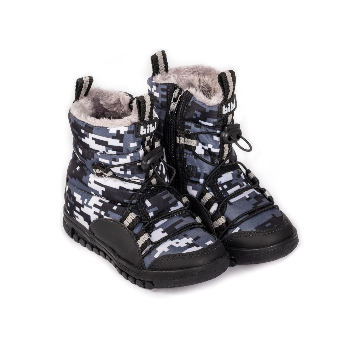 Cizme cu blanita Bibi Shoes Roller Camuflaj imagine
