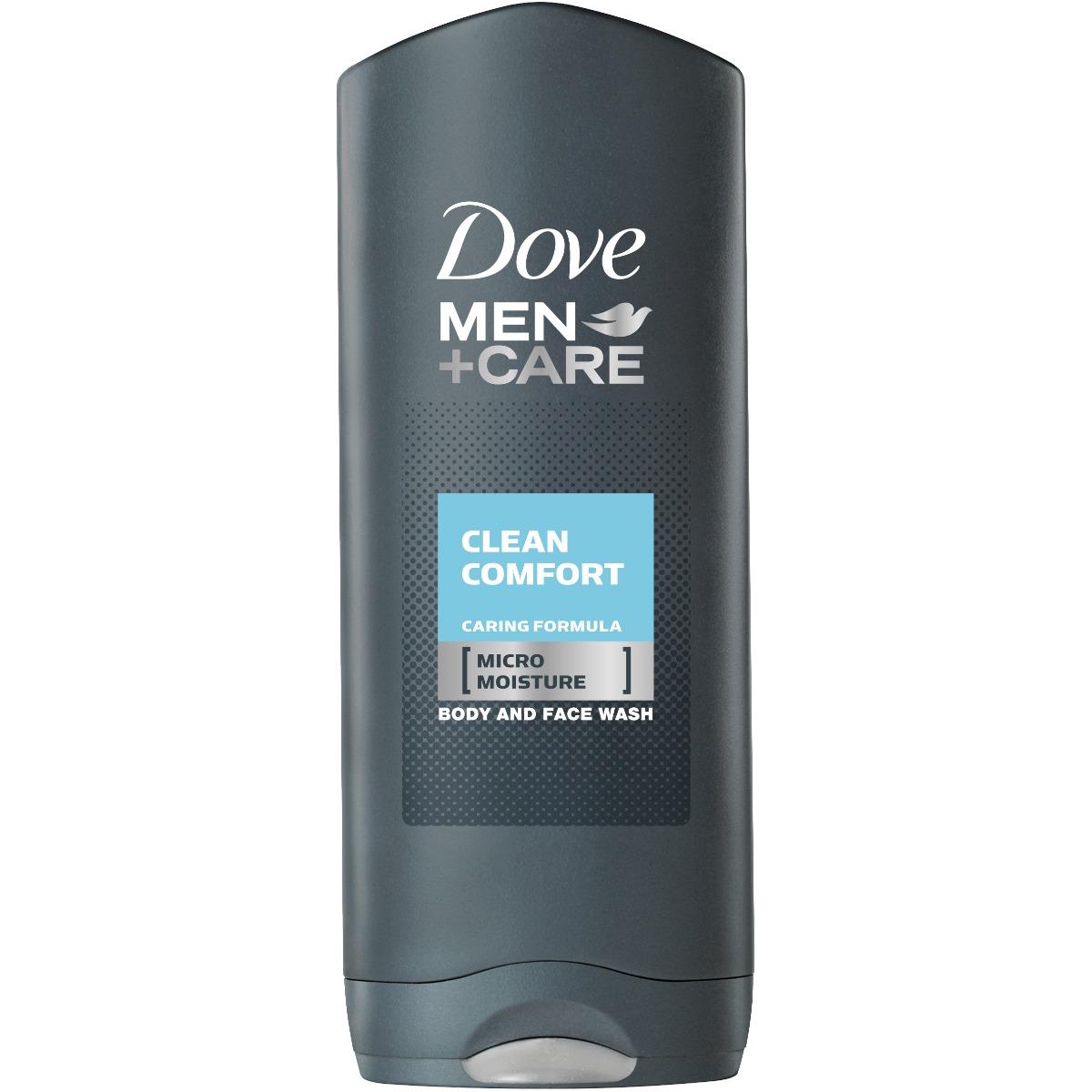 Gel de dus Dove Men +Care Clean Comfort, 400 ml imagine