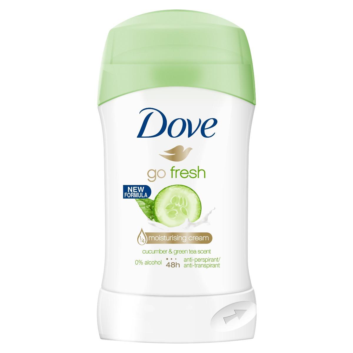 Deodorant stick Dove Fresh Touch, 40 ml imagine