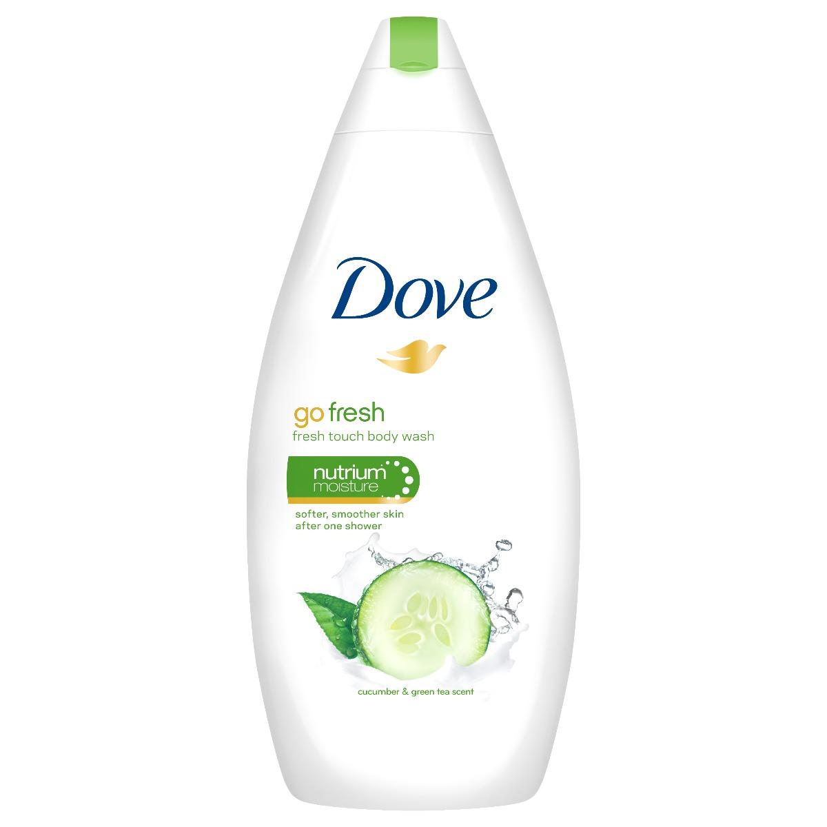 Gel de dus Dove Fresh Touch, 750 ml imagine