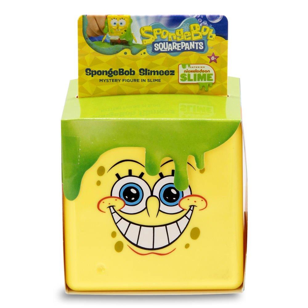 Cub cu figurina surpriza SpongeBob si Slime