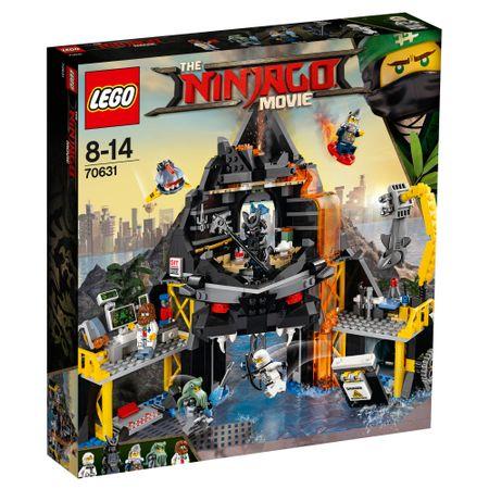 lego® ninjago - vizuina lui garmadon din vulcan (70631)