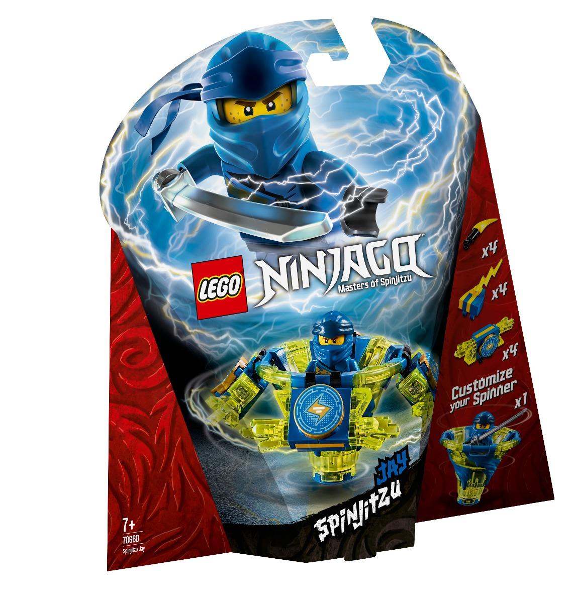 LEGO® Ninjago - Spinjitzu Jay (70660)
