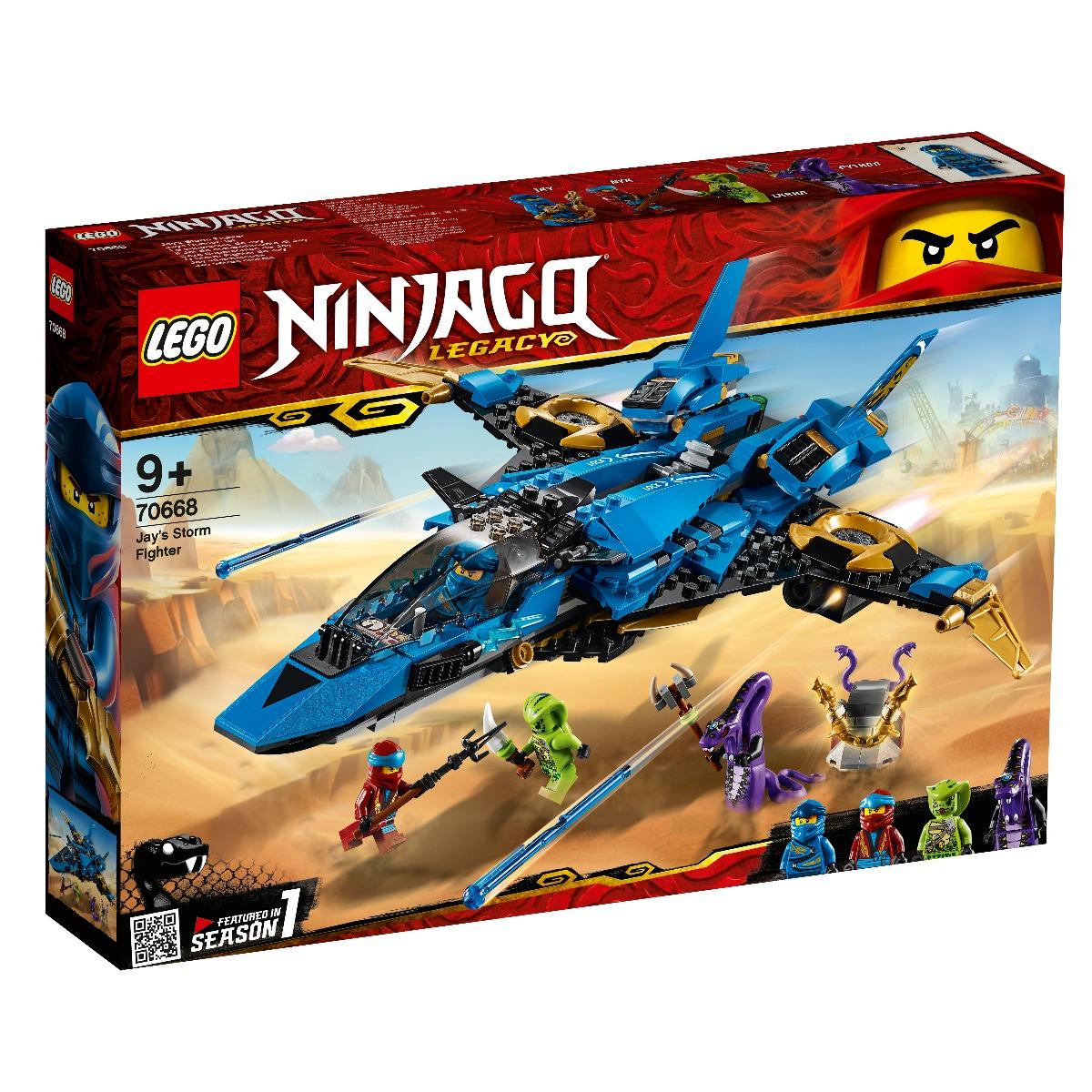 LEGO® Ninjago - Avionul de lupta al lui Jay (70668)
