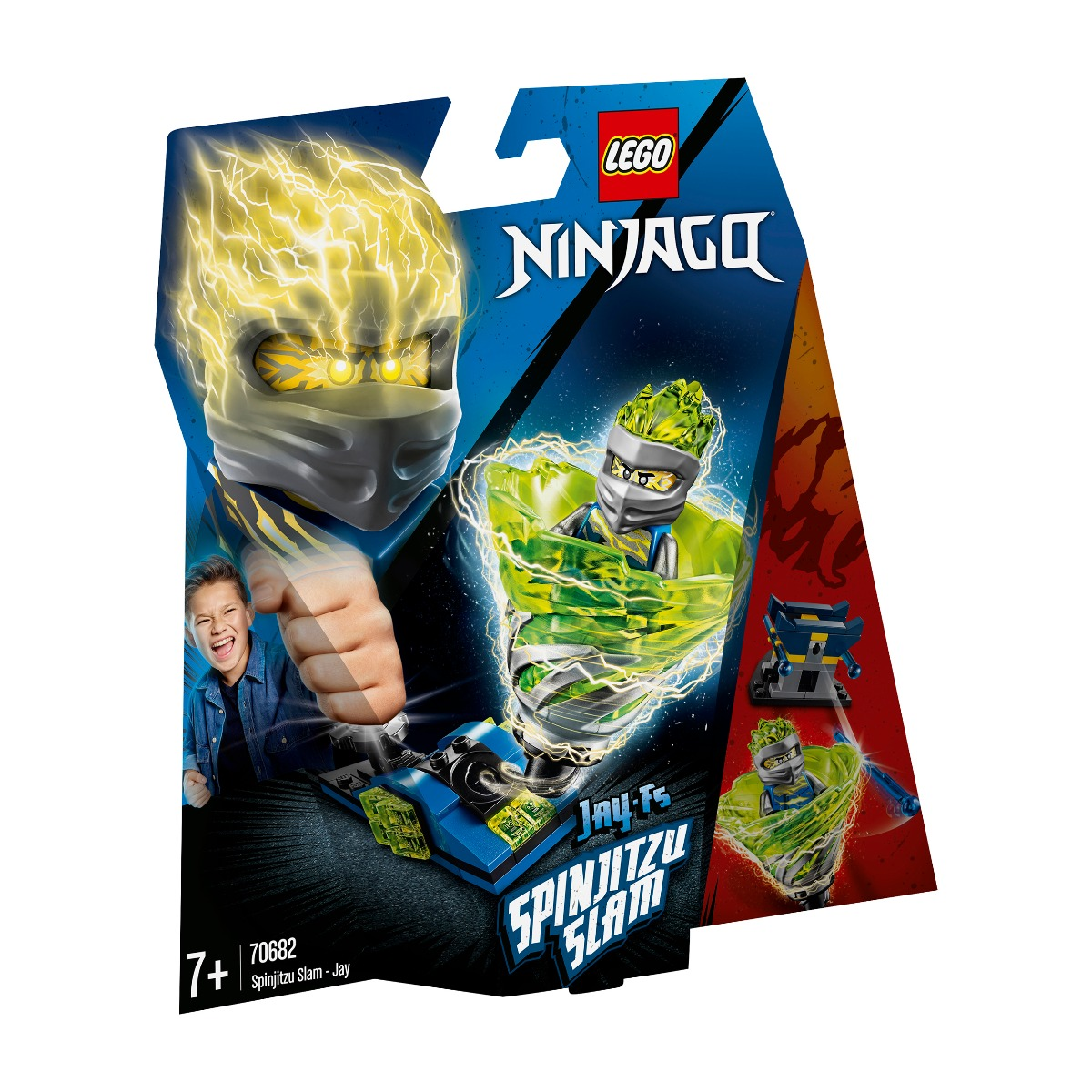 LEGO® NINJAGO® - Slam Spinjitzu - Jay (70682)