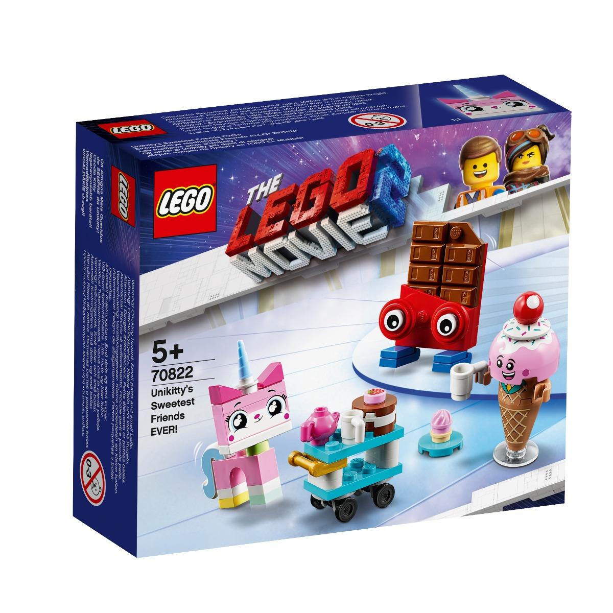 LEGO® Movie - Cei mai simpatici prieteni ai lui Unikitty (70822)
