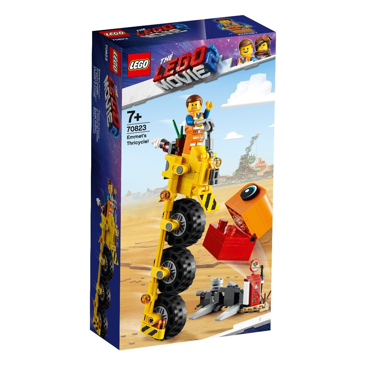 LEGO® Movie - Triciclul lui Emmet (70823)