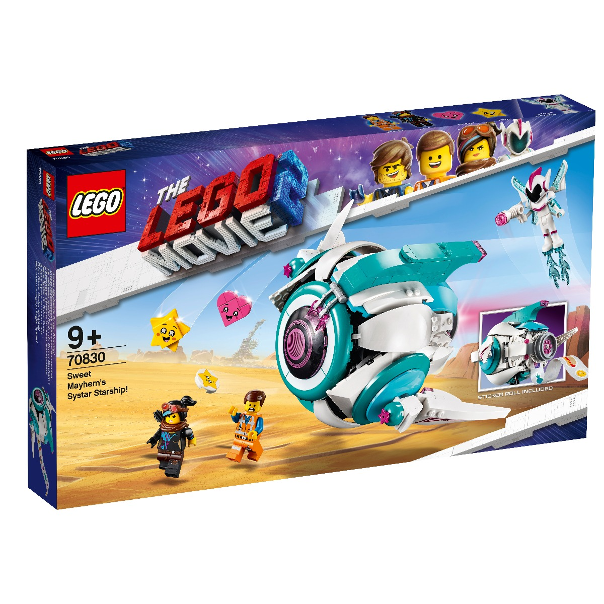LEGO® Movie - Nava stelara Systar a lui Mayhem (70830)