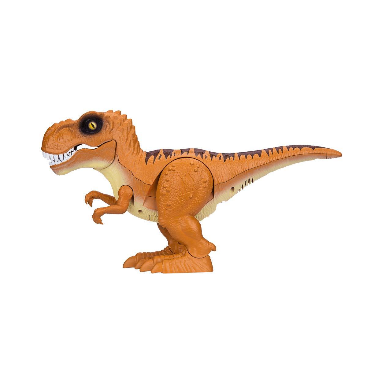 Jucarie interactiva Zuru Robo Alive - Dinozaur, portocaliu