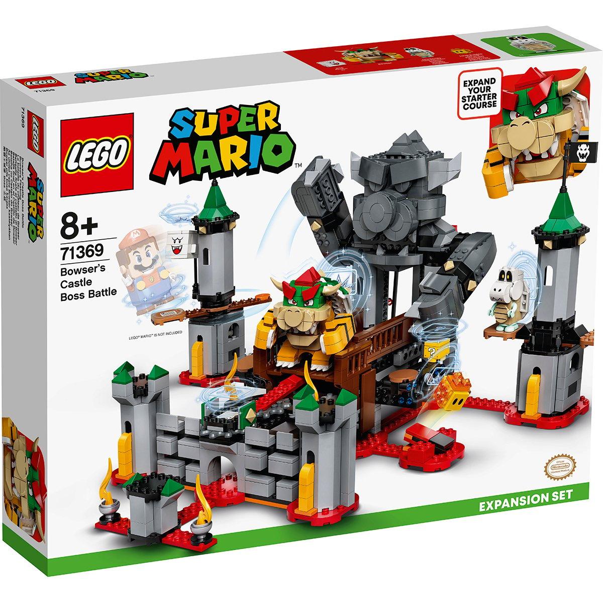 LEGO® Super Mario - Set de extindere Batalia de la Castelul lui Bowser (71369)