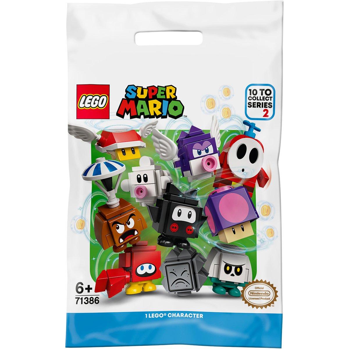 Figurina surpriza LEGO® Super Mario - Pachet de personaje - Seria 2 (71386)
