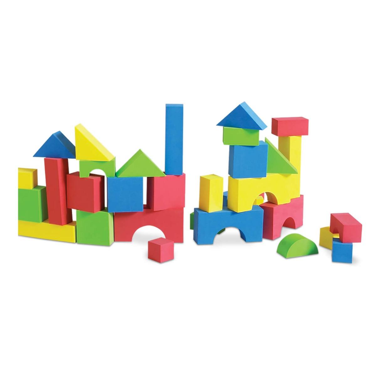 Set 30 forme de construit din spuma Edushape