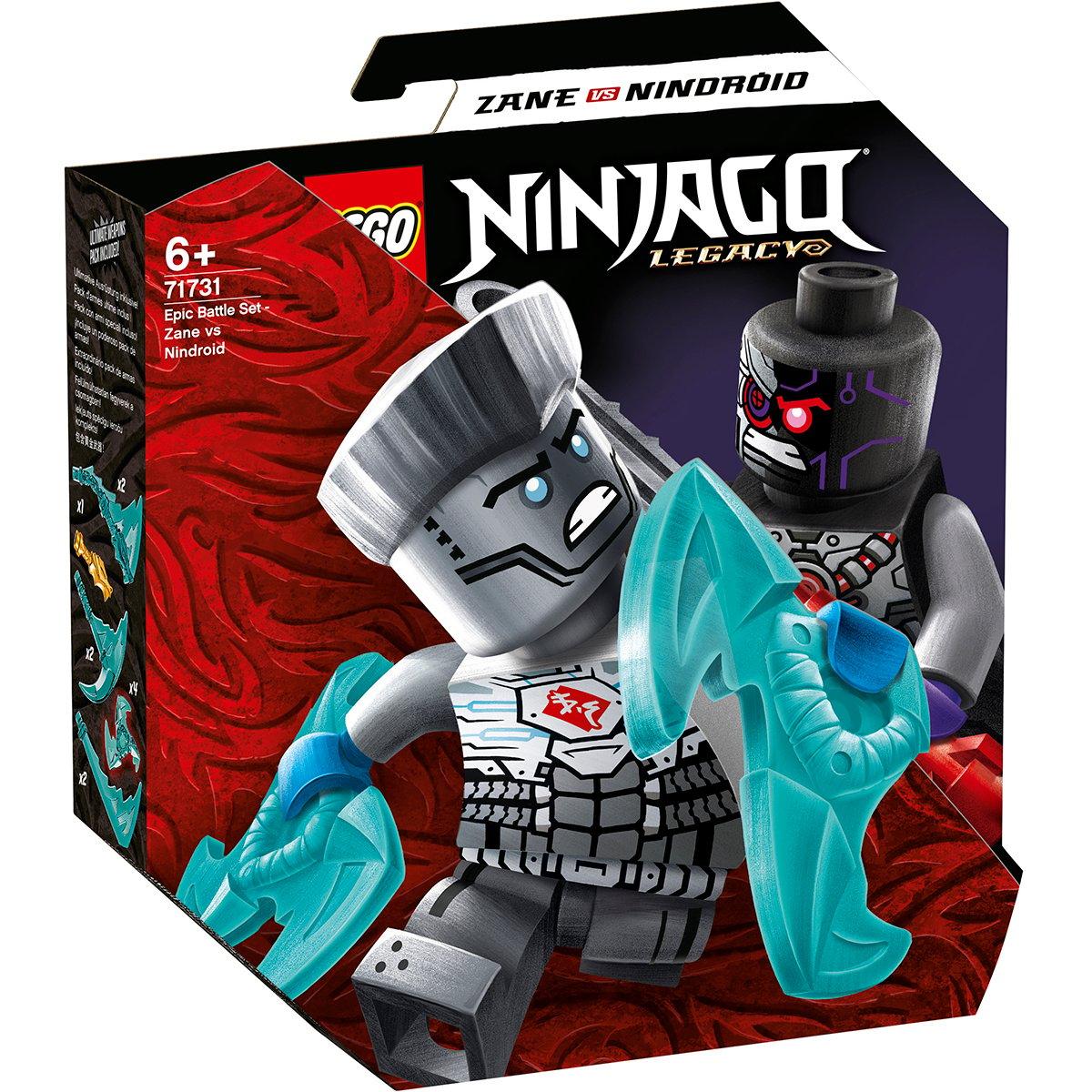 LEGO® Ninjago® - Set de lupta epica - Zane contra Nindroi (71731)