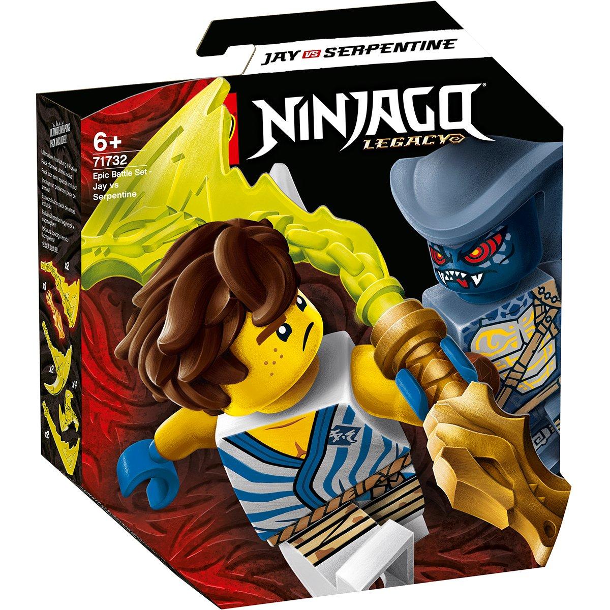 LEGO® Ninjago® - Set de lupta epica - Jay contra Serpenti (71732)