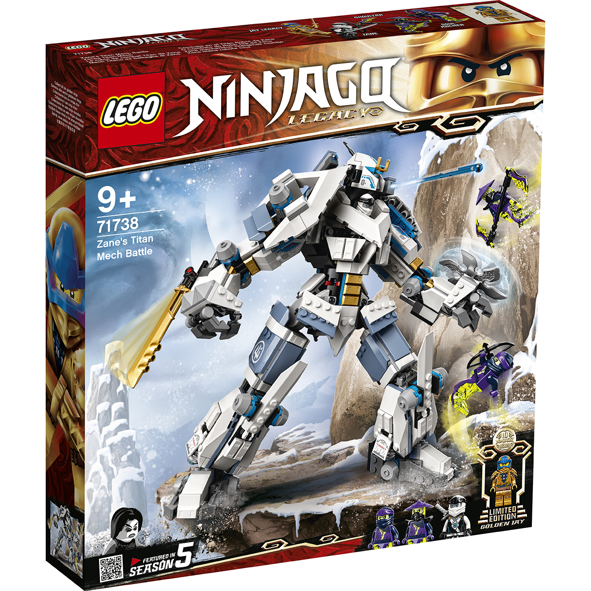 Lego® Ninjago® - Lupta Cu Robotul De Titan A Lui Zane (71738)
