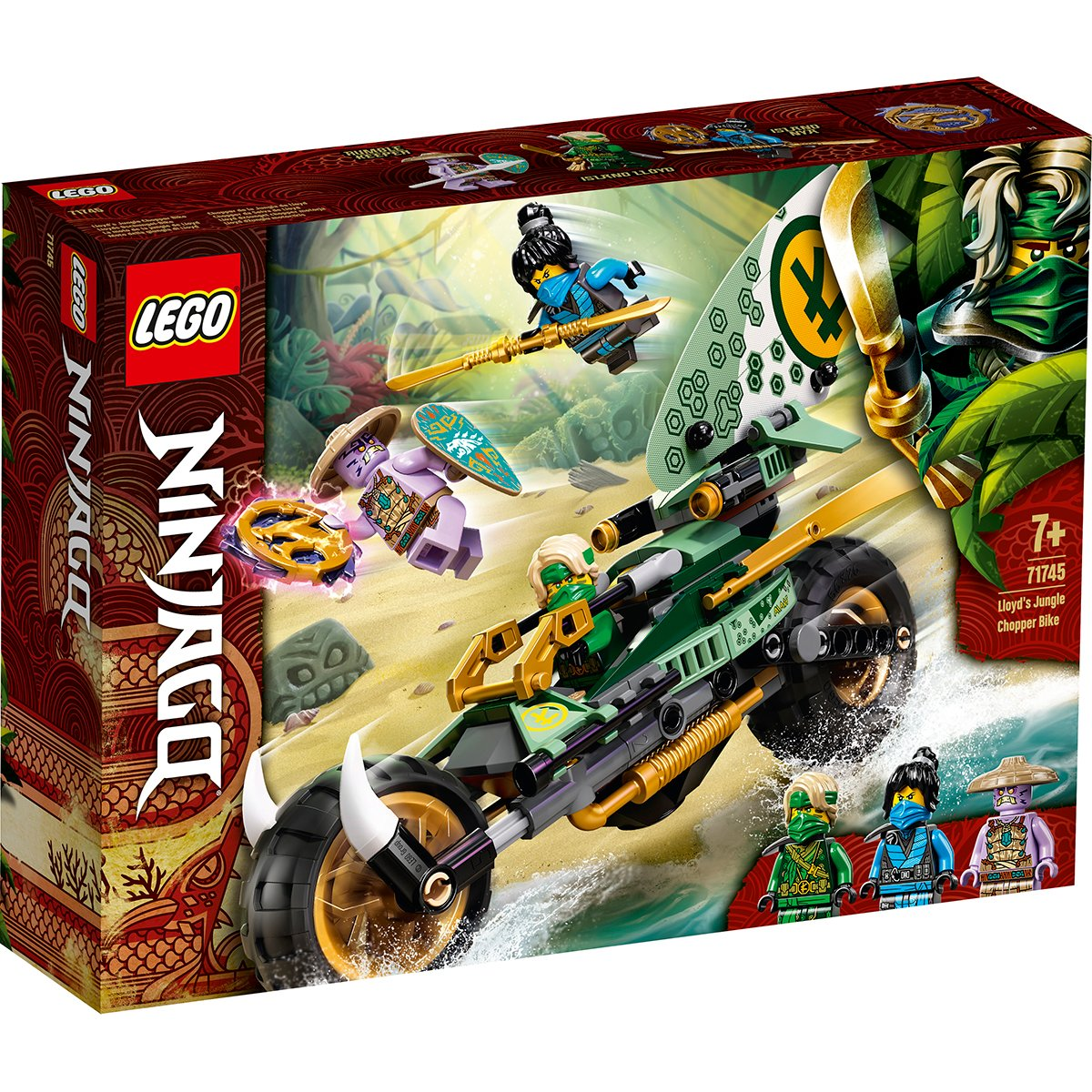 LEGO® Ninjago® - Motocicleta chopper a lui Lloyd (71745)