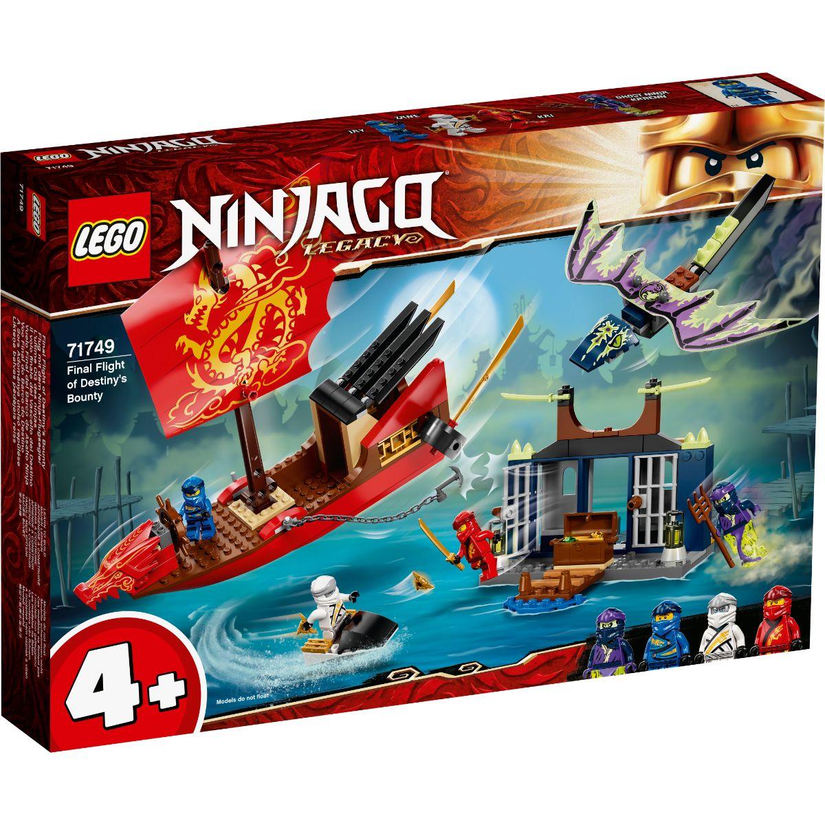 LEGO® Ninjago - Ultimul zbor al navei Destiny's Bounty (71749)