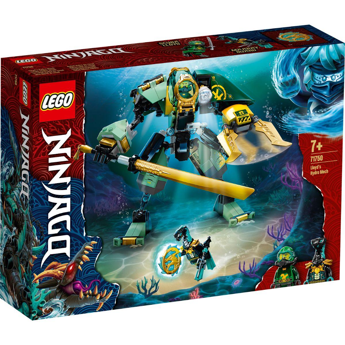 LEGO® Ninjago - Robotul Hidro al lui Lloyd (71750)