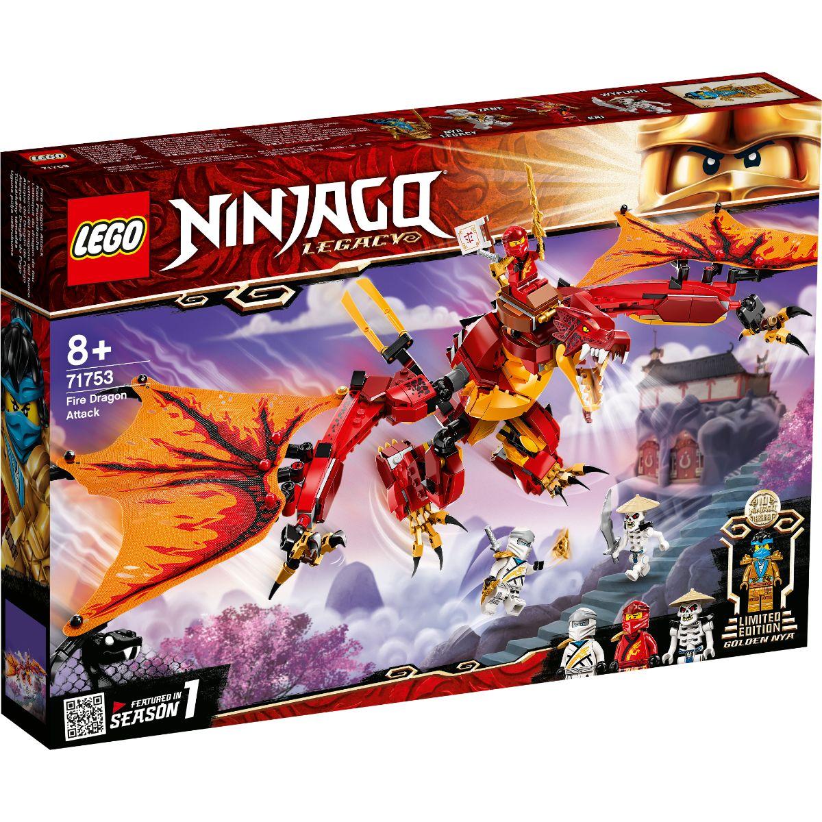 LEGO® Ninjago - Atacul Dragonului de Foc (71753)