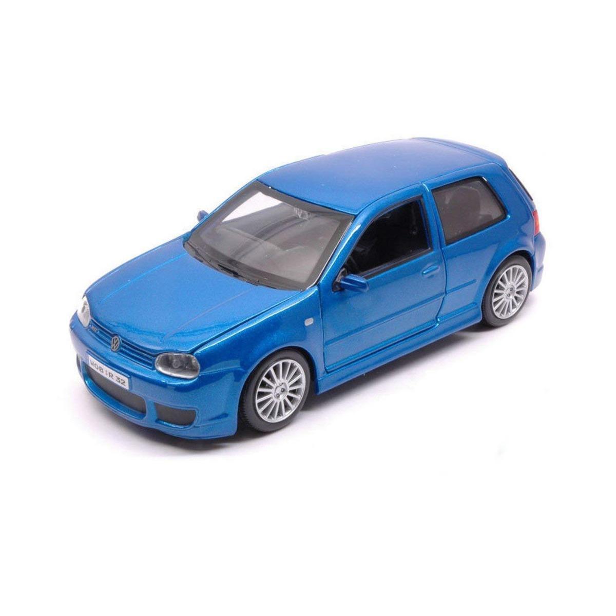 Masinuta Maisto Volkswagen Golf R32 1:24, Albastru